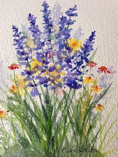 236x314 Daisy Watercolor Nikki Watercolor, Paintings And