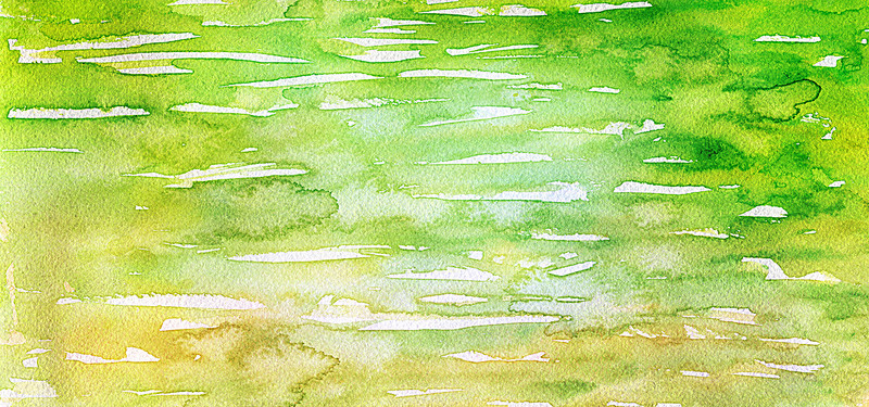 800x375 Fresh Green Watercolor Background, Fresh, Watercolor, Green