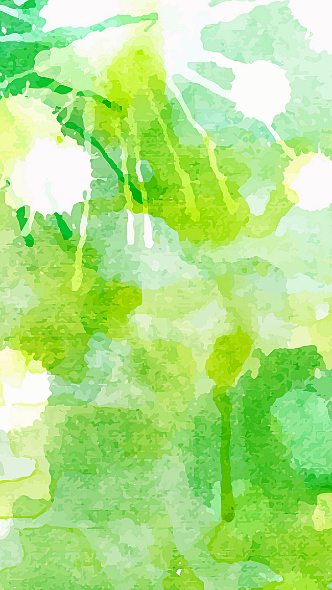 650x1155 Green Watercolor Background, Green, Watercolor, Textured