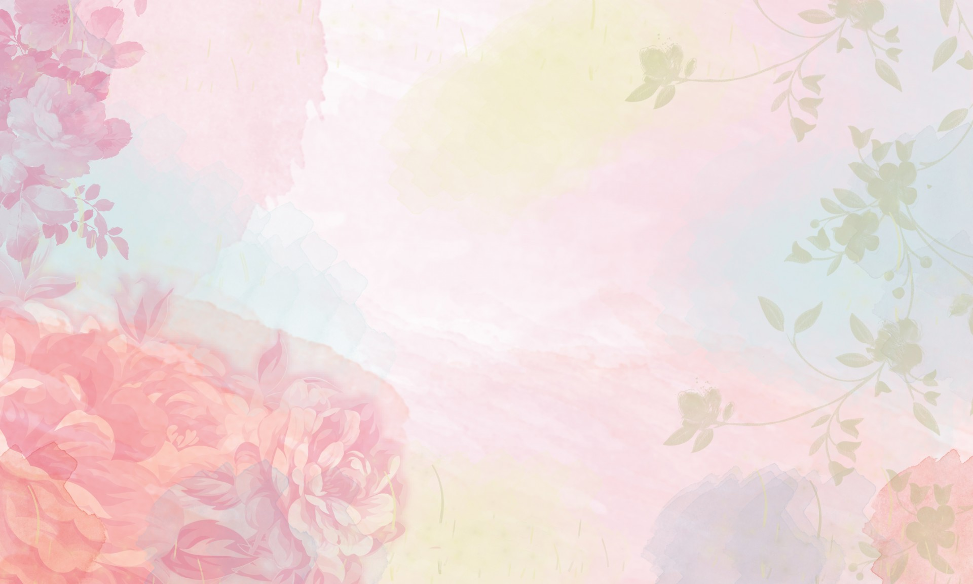 Free Watercolor Floral Background At Getdrawings Free Download