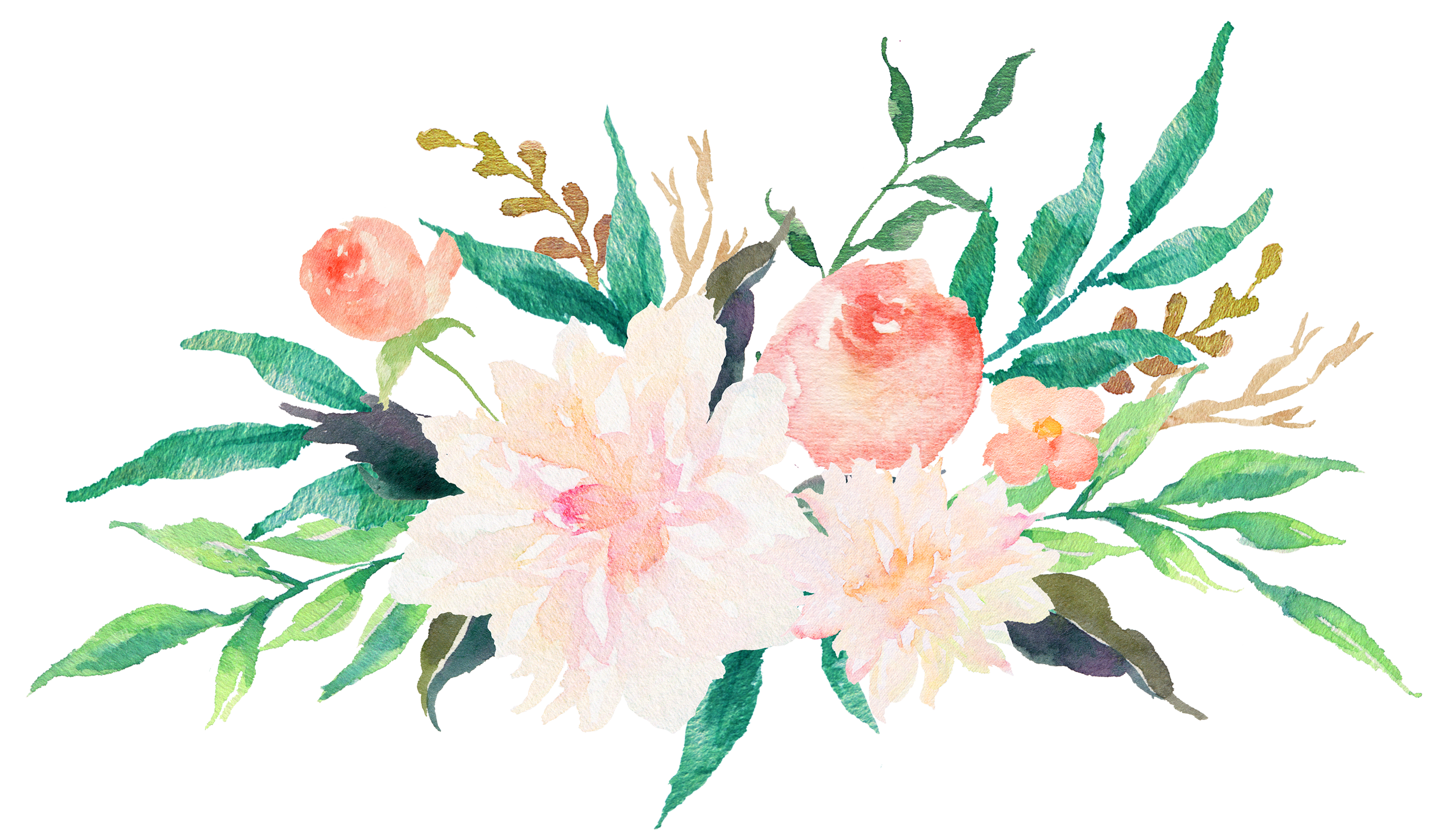 Free Watercolor Flower Clipart at GetDrawings | Free download