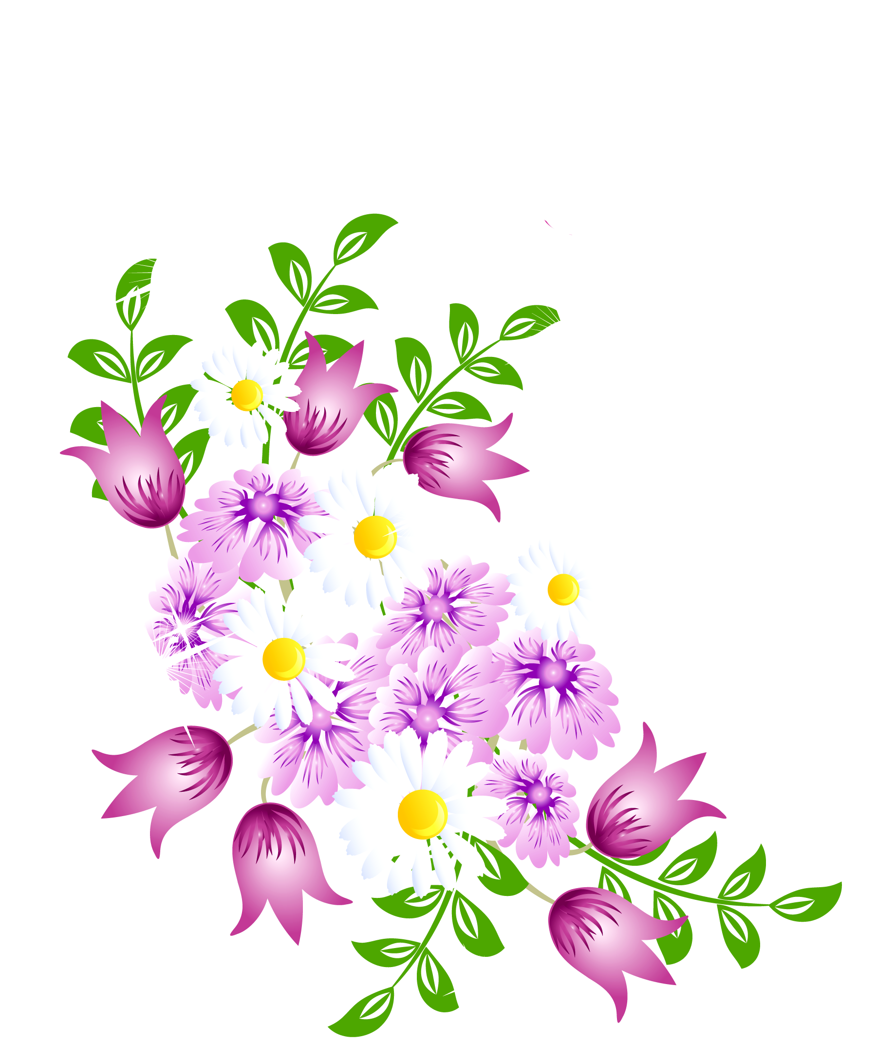 Watercolor Flowers Png Vector Psd And Clipart With: Free Watercolor Flower Clipart At GetDrawings
