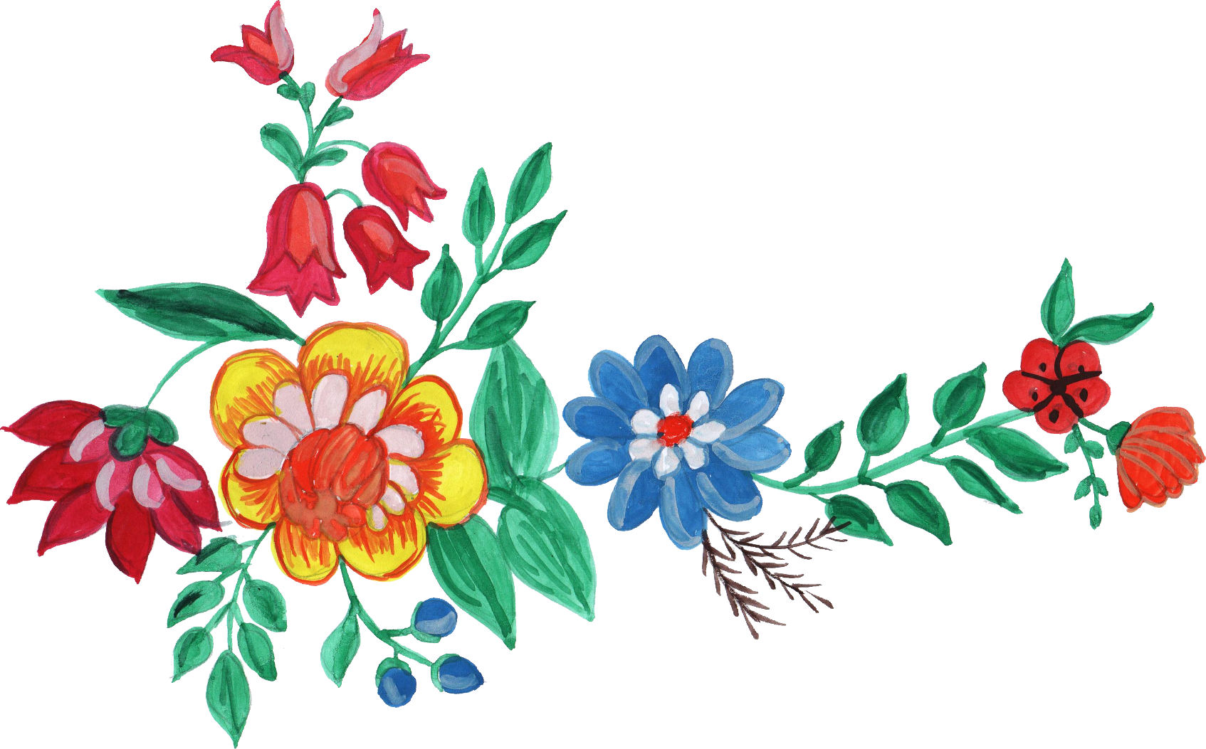 Free Watercolor Flower Images