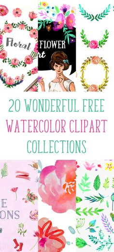 Free Watercolor Flower Vector