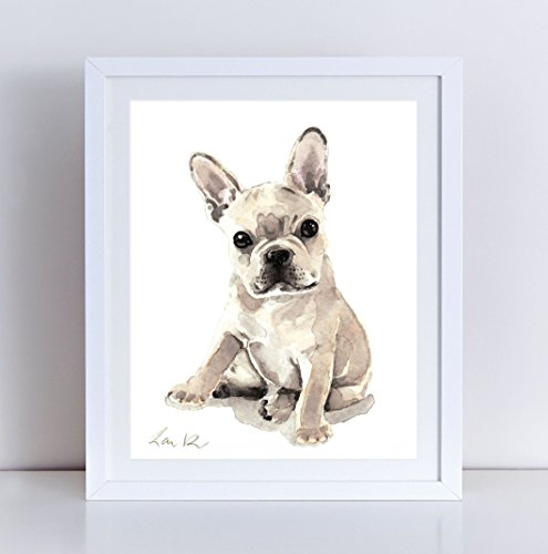 French Bulldog Watercolor