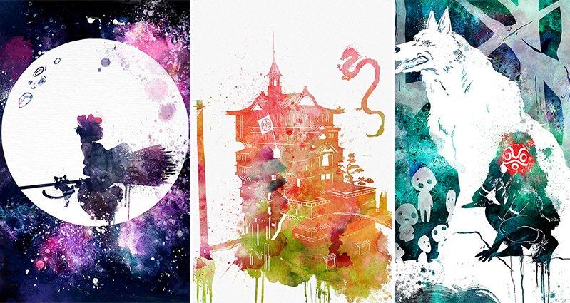 Ghibli Watercolor