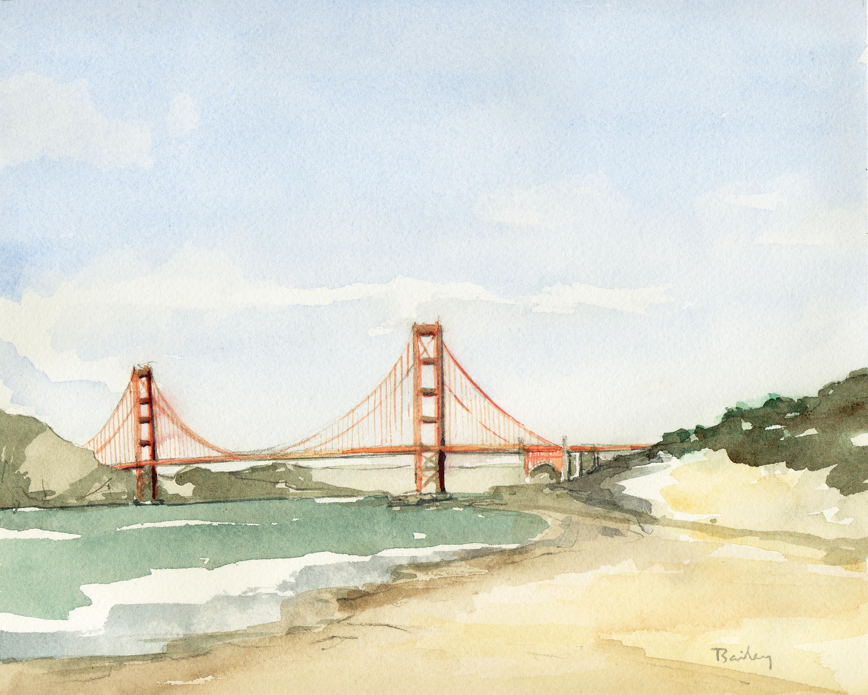3000x2400 Golden Gate Bridge The Art Of Brian