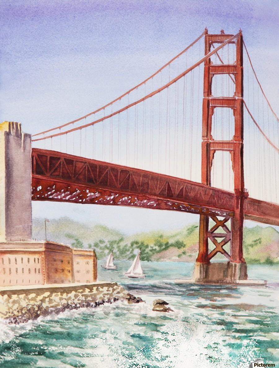 900x1184 Golden Gate Bridge San Francisco