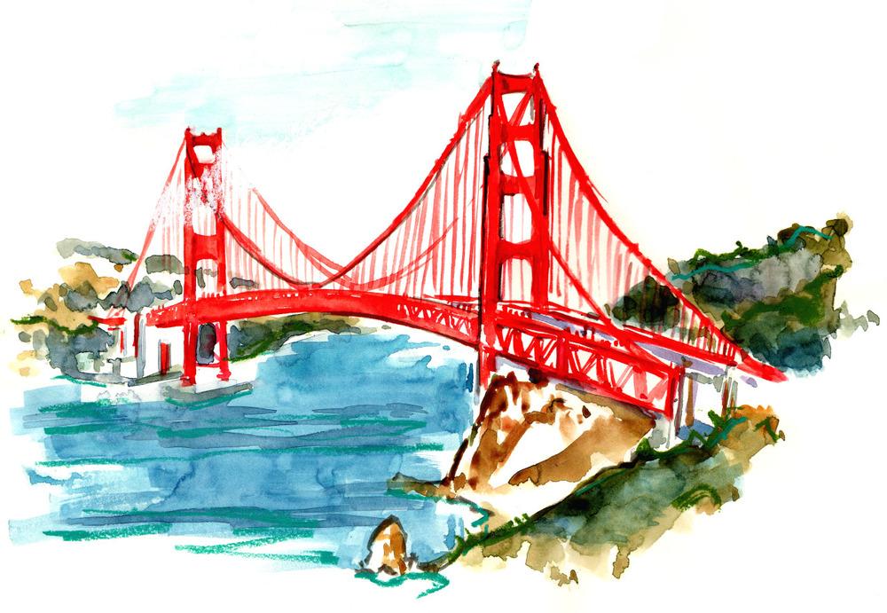 1000x691 Golden Gate Bridge Briana Kranz