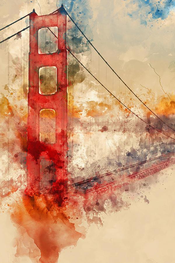 600x900 Golden Gate Bridge
