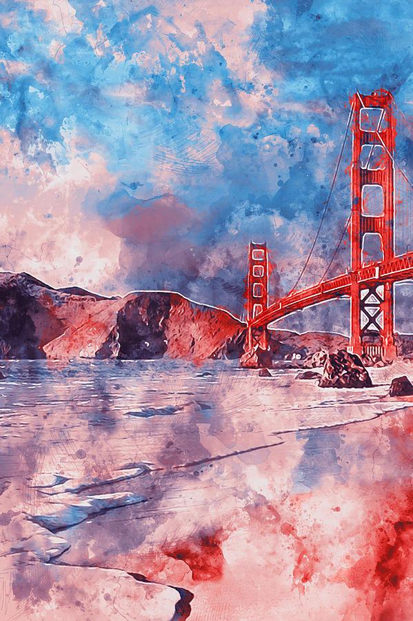 599x900 Golden Gate Bridge
