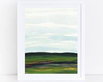 340x270 Watercolor Landscape Etsy