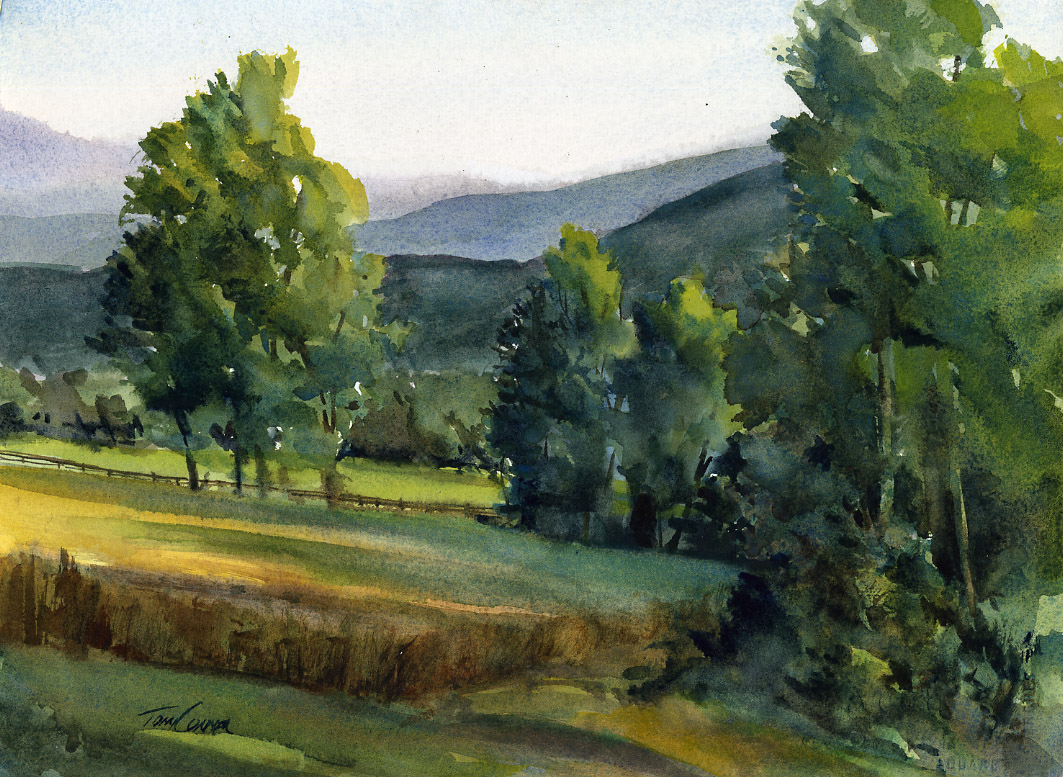 1063x777 Drawing Amp Painting Classes Vermont Watercolor Artist Tony Conner