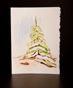 Hand Painted Watercolor Greeting Cards