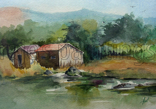 500x349 Water Colour Paintings