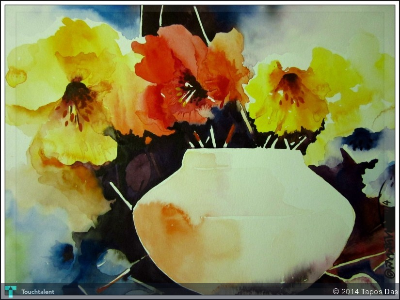825x619 My Water Color Painting Watercolor On Handmade
