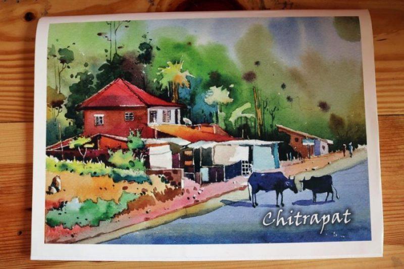 800x533 Chitrapat Watercolor Paper Block Matte Handmade 270gsm Paper
