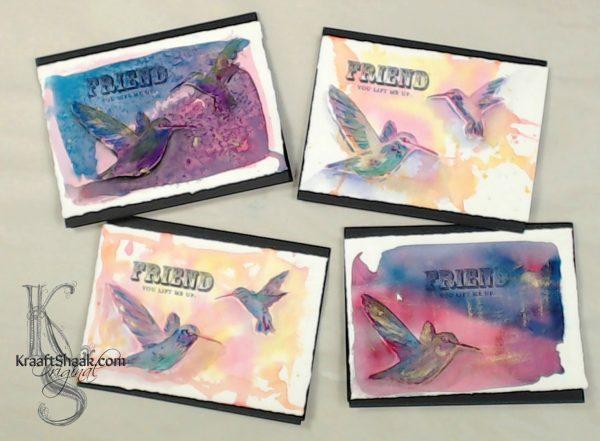 600x441 Creating Handmade Cards With Watercolor Warm Ups Kraaft Shaak