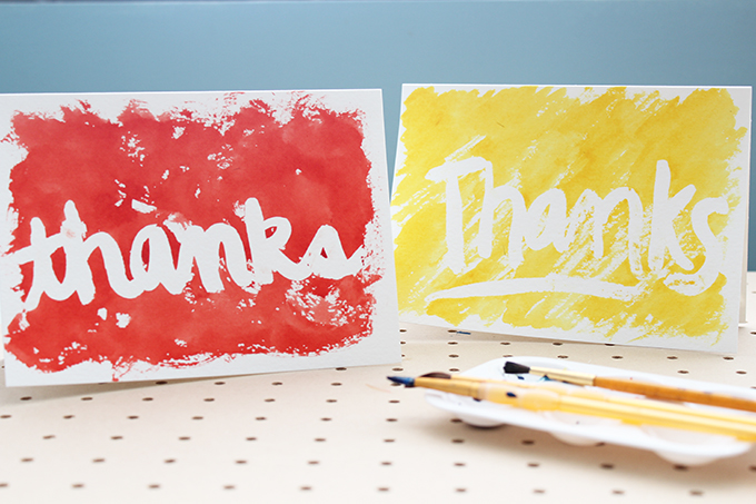 680x453 Creative Handmade Different Cards With Water Color Designing