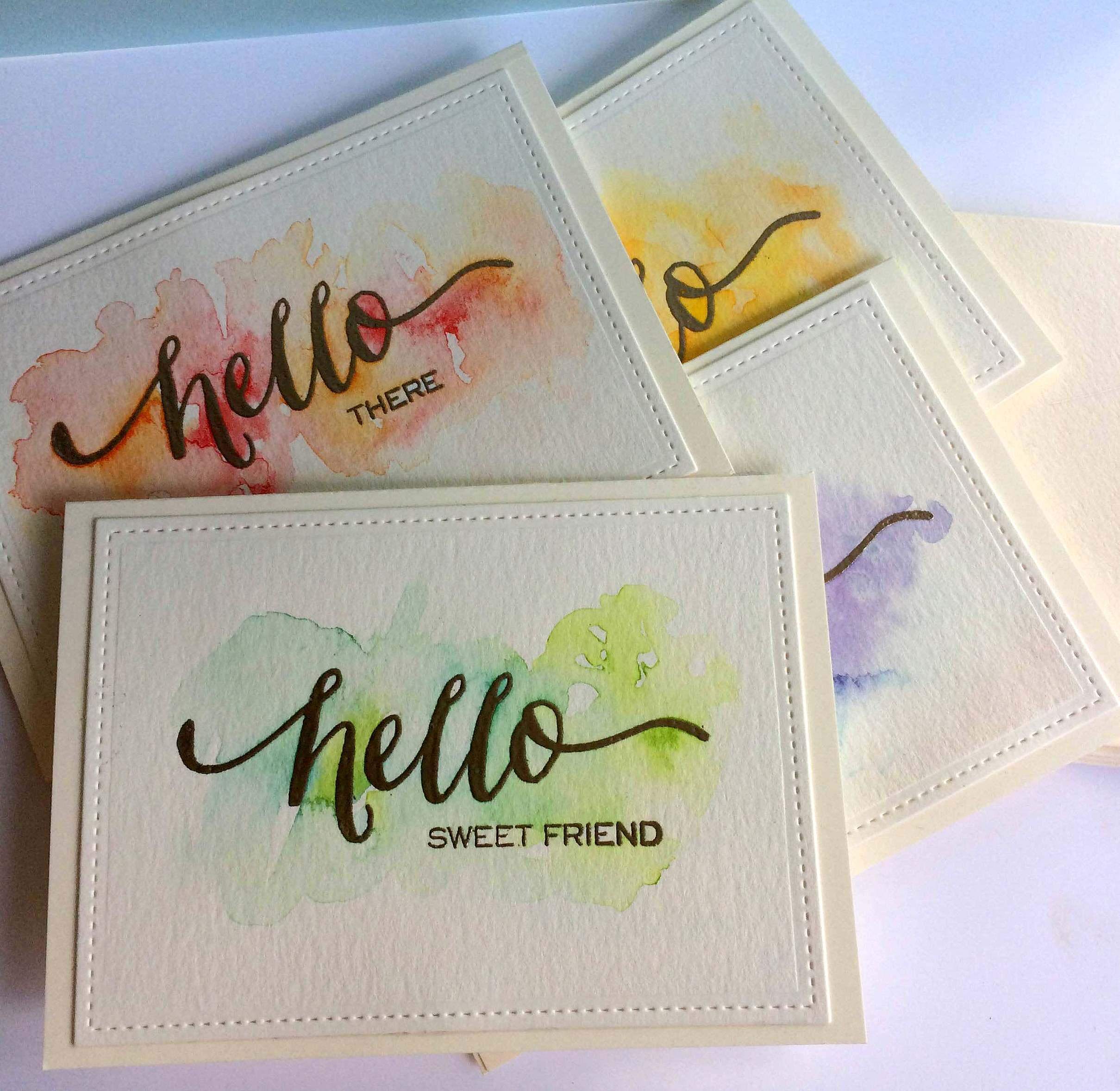 2419x2357 Handmade Card Sets