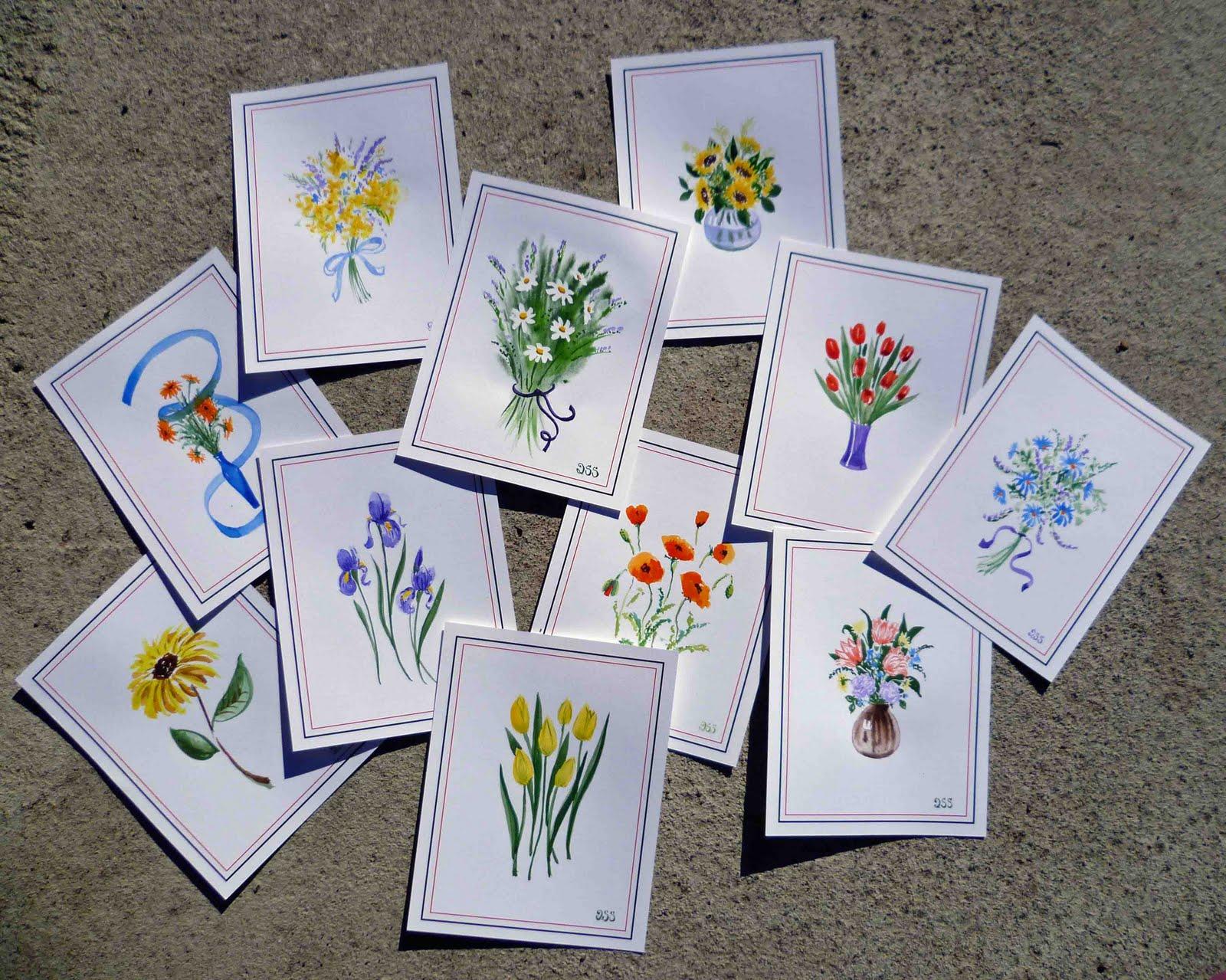 1600x1279 Irina Sztukowski Watercolor Cards