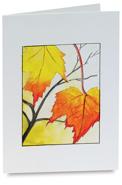 397x600 Strathmore Watercolor Cards