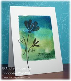 236x272 Handmade Notecard From Kt Hom Designs Stamping With Acrylic