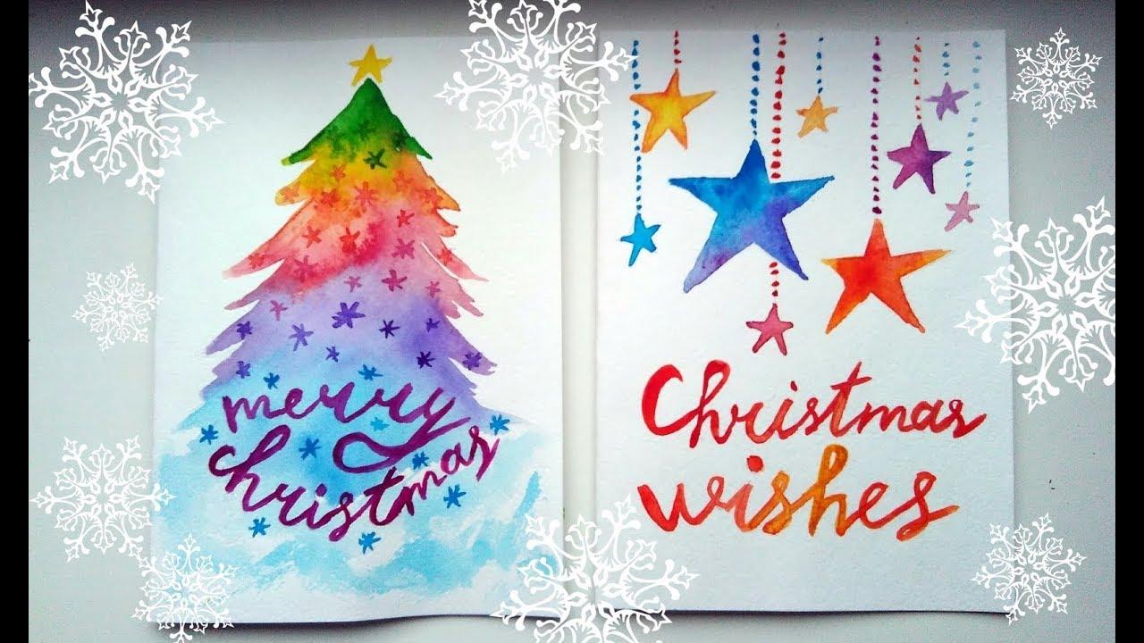 1280x720 Diy Easy Christmas Cards Ideas