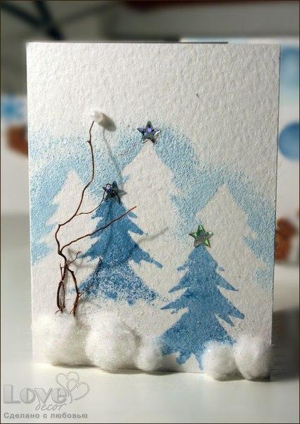 427x604 Handmade Christmas Card Ideas ~ Home Decorating Ideas
