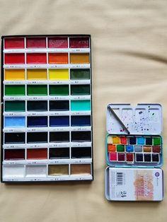 236x314 Handmade Watercolor Paint