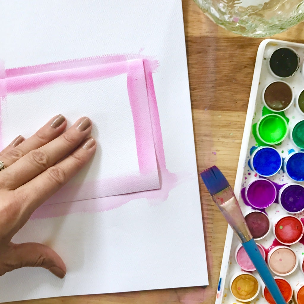 1024x1024 Quick Handmade Watercolor Notecards