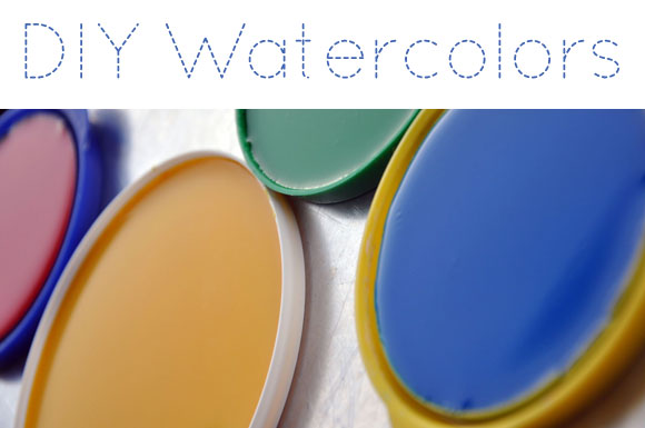 580x385 Tutorial} Color Your World With Handmade Watercolors Oh My! Handmade