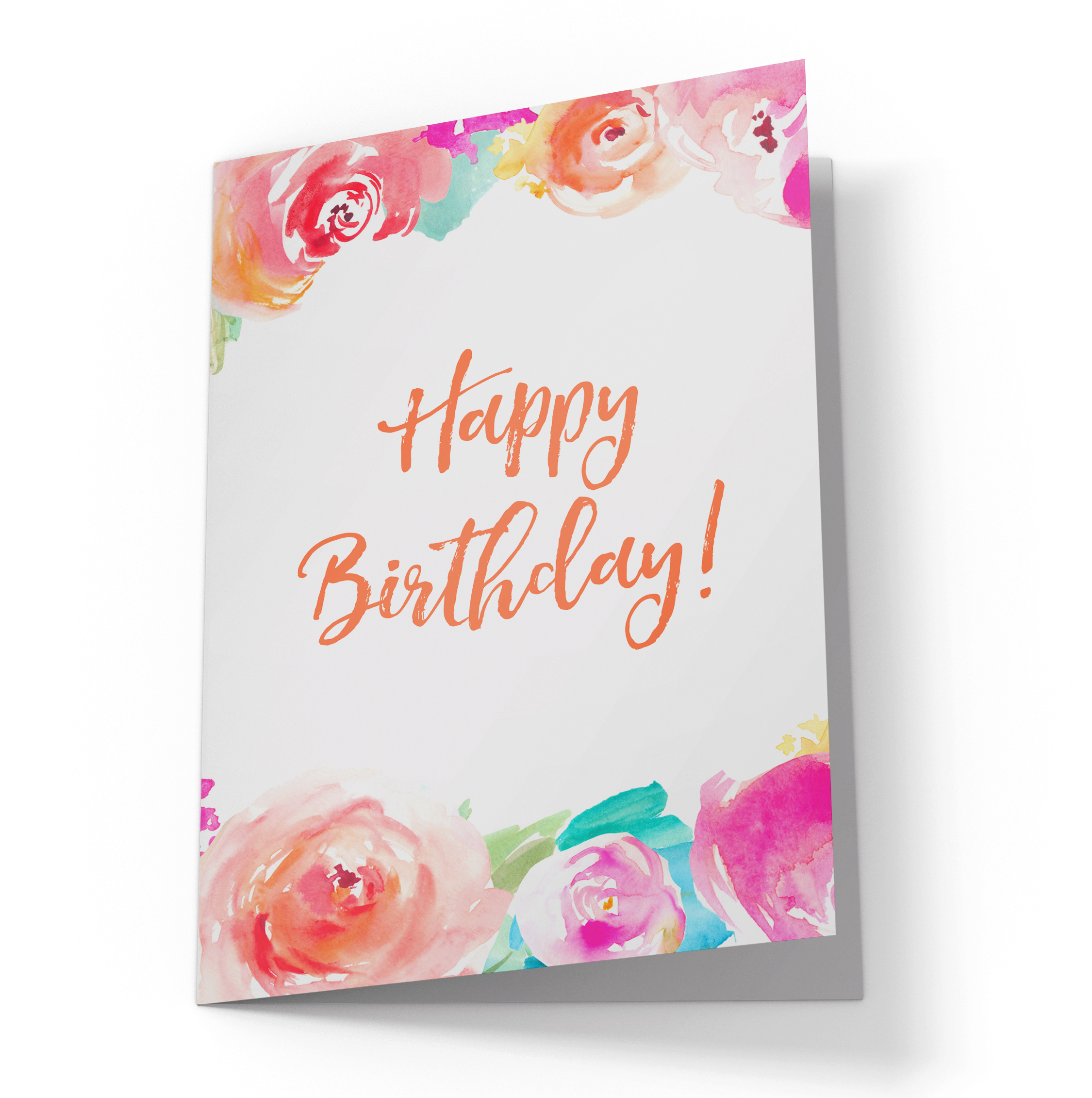 2250x2262 Happy Birthday Card Svg Cut File. Cute Happy Birthday Card With