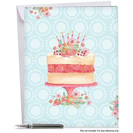 Happy Birthday Card Watercolor
