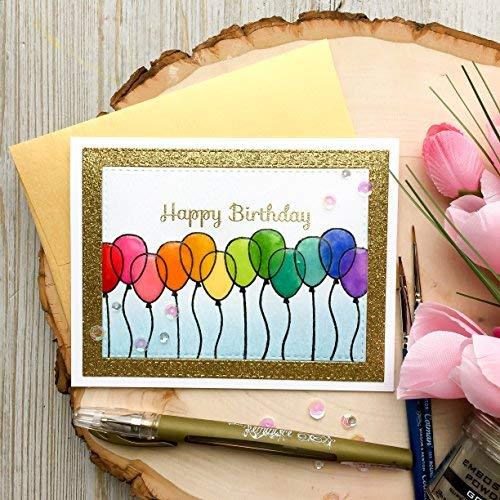 Happy Birthday Watercolor Card