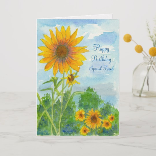 Happy Birthday Watercolor Card at GetDrawings com | Free for