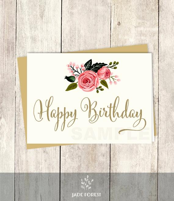570x659 Watercolor Happy Birthday Card Fresh Happy Birthday Card Diy