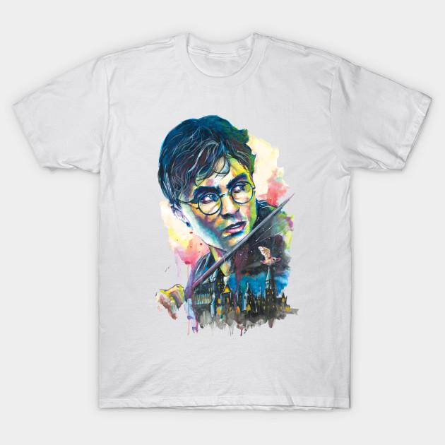 630x630 Harry Potter Watercolor