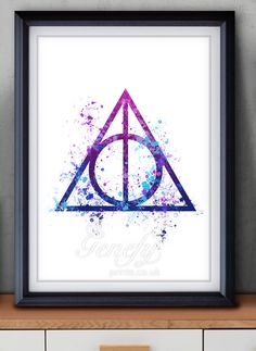 236x323 Harry Potter Gift, Deathly Hallows, Harry Potter Poster, Deathly