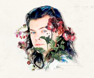 Harry Styles Watercolor