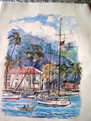 Hawaiian Watercolor Prints