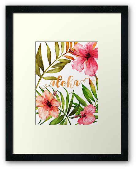 The best free Aloha watercolor images  Download from 33 free