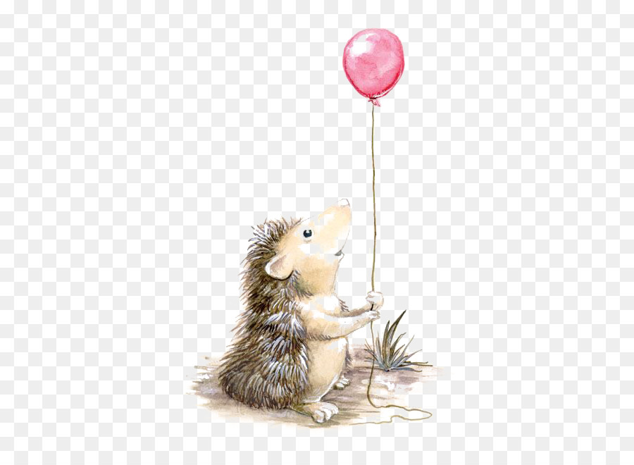 900x660 Hedgehog Seventh Bride Drawing Watercolor Painting Illustration