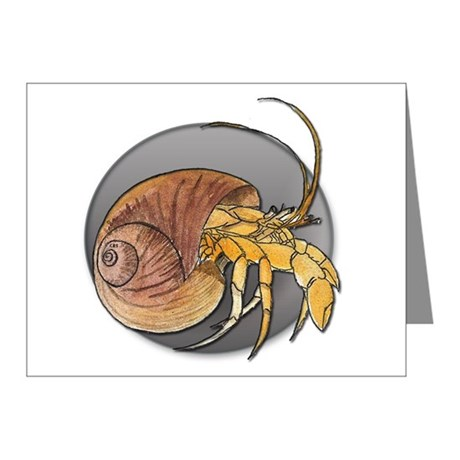 460x460 Hermie Crab Stationery