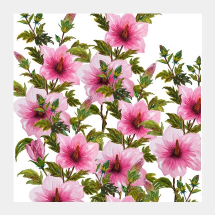 Hibiscus Flower Watercolor