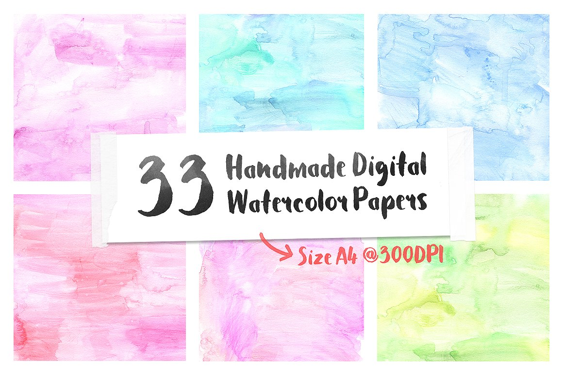 High Quality Watercolor Paper