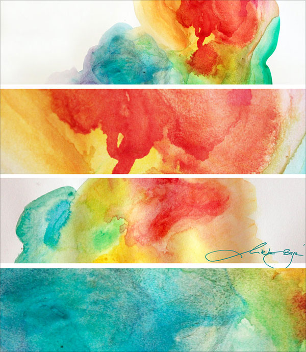 High Res Watercolor Texture