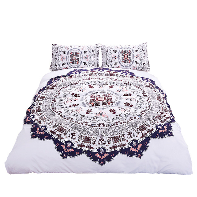 640x640 Hipster Watercolor Bedding Set Twin Full Queen King Size Duvet