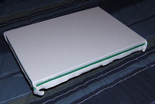 500x336 Homemade Watercolour Paper Stretcher I Use Homemade