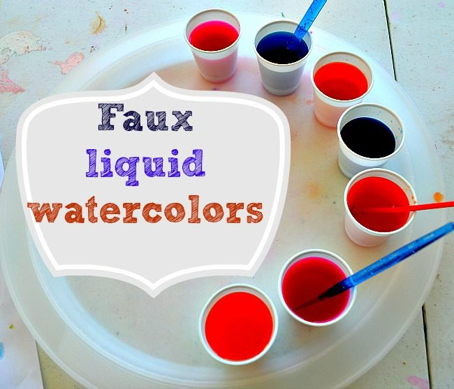 650x558 Art Activities For Kids Crepe Paper Paint And Homemade Liquid